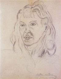portrait de mania oïfer by antonin artaud