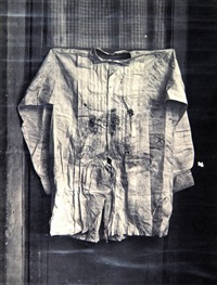 assasination vest of emperor maximillian - mexican revolution by agustin victor casasola