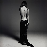 helena christensen v (safe sex campaign) by michel comte