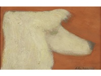 poodle by milton avery