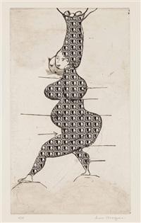 ste sebastienne (stamp of memories ii) by louise bourgeois