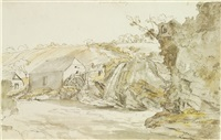 a mill near bantry, county cork by william ashford