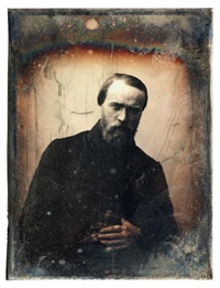 portrait d'un peintre (hyppolyte flandrin) by gustave le gray and auguste mestral