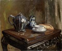 nature morte: le thé by henri charles manguin