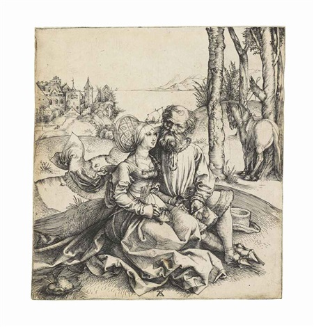 the ill assorted couple by albrecht dürer