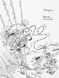 le marsupilami - tome 17 (for cover) by batem