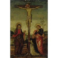 crucifixion with mary and saints by raffaelino del garbo