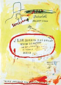 supercombas by jean-michel basquiat