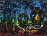 gypsy encampment #1 by ed paschke