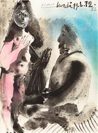 le peintre et la courtisane by pablo picasso