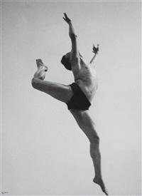 the dancer, willem gerard van loon, paris by ilse bing