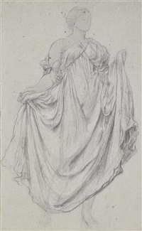 study for the daphnephoria by lord frederick leighton