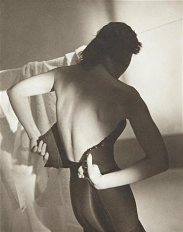 black corset by horst p. horst