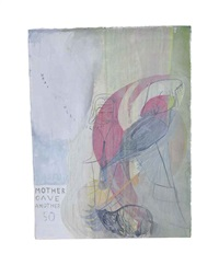 untitled (mother gave another 50) by amy sillman