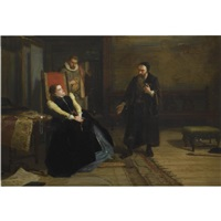 john knox and mary queen of scots by robert herdman