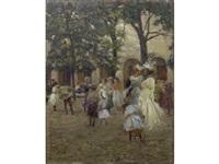 im hofgarten zu muenchen by symeon sabbides