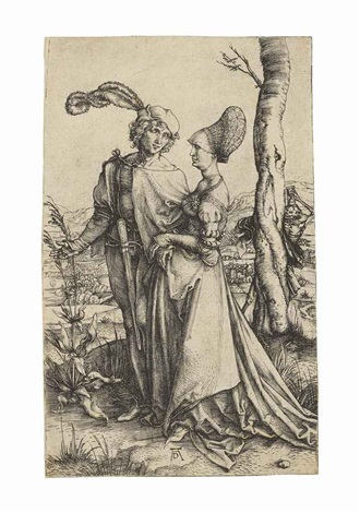 the promenade by albrecht dürer