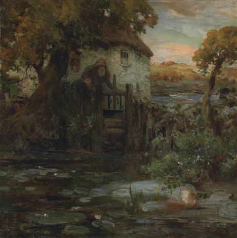 ophelia by william stewart macgeorge