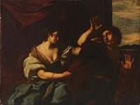 joseph and potiphar's wife by anonymous-italian (17)
