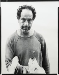 robert frank, photographer, mabou mines, nova scotia, july 17, 1975 by richard avedon