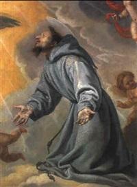 der heilige franziskus in ekstase by bartolome (carducho) carducci