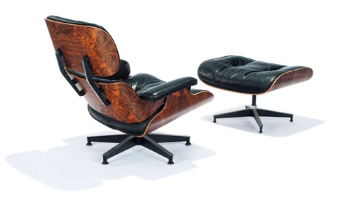 lounge chair ottoman model 670 671 set of 2 by charles and ray eames