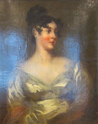 portrait de lady grosvenor by thomas lawrence