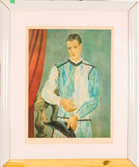 harlequin, 1966 by pablo picasso