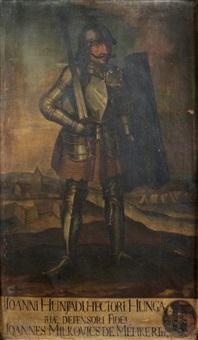 portrait de jean hunyadi by joannicius milkovics