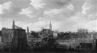 delft, na de ontploffing van het kruitmagazijn op 12 oktober 1654 by daniel vosmaer