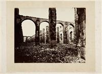 les ruines de paris et de ses environs (album w/20 works) by alphonse liebert