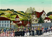fronleichnam in appenzell by albert manser