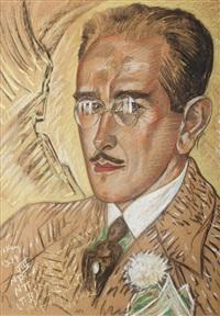 portret eugeniusza konarskiego by stanislaw ignacy witkiewicz