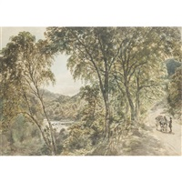 near loch lomond by samuel bough