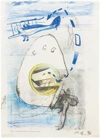 ego (selbstporträt) by martin kippenberger