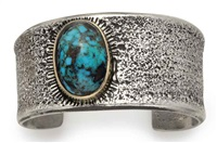 cuff bracelet by charles loloma
