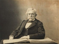 edmond de goncourt by paul nadar