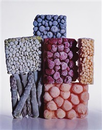 frozen foods, new york by irving penn