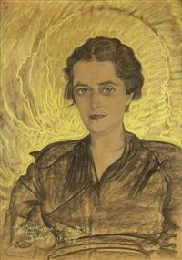 portret michaliny filippi by stanislaw ignacy witkiewicz