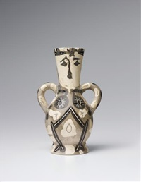 vase deux anses hautes (vase with two high handles) by pablo picasso