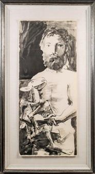 l'homme au mouton by pablo picasso