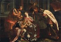 l'adoration des mages by flemish school (16)