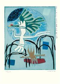 birds by kim whanki