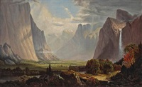 a view of yosemite valley by mary park benton