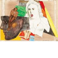 ulysse; rabbit man does it again; elle fuit la fete tout seule (3 works) by pat andrea