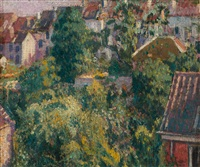 the roofs by georges lemmen