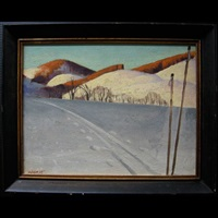 winter trails by eric aldwinckle