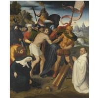 christ on the road to calvary by juan correa de vivar