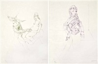 le chants de maldoror (2 works) by hans bellmer