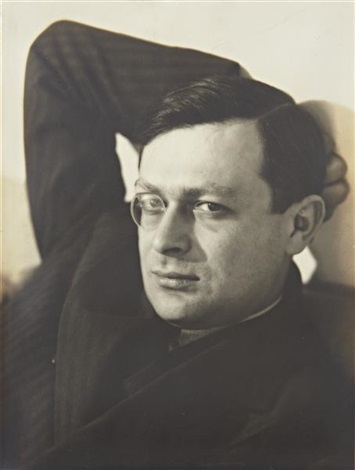 tristan tzara by man ray